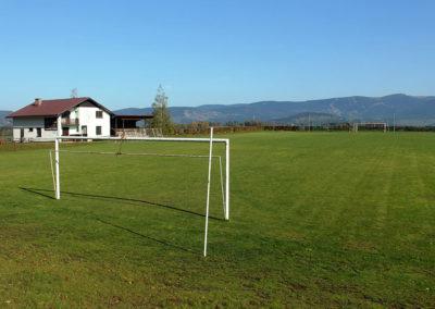 Fotbalové hřiště, TJ Vysoké nad Jizerou