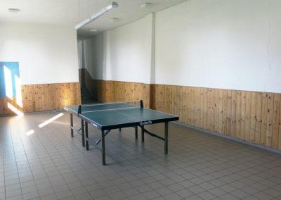 Stolní tenis, Sokolovna TJ Vysoké nad Jizerou