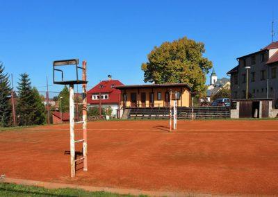 Volejbalová hřiště, TJ Vysoké nad Jizerou