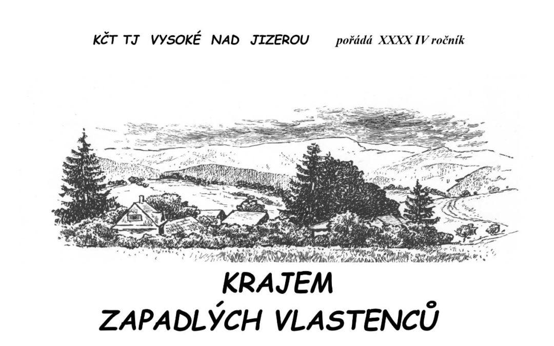 Banner, Krajem zapadlých vlastenců 2020, TJ VYsoké nad Jizerou
