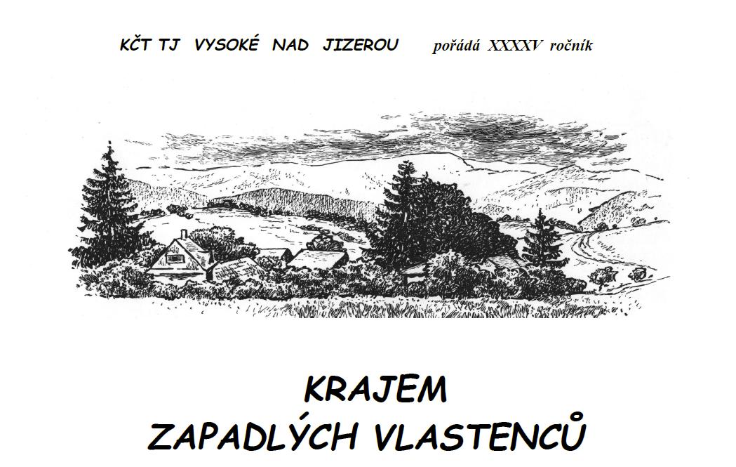 Banner, Krajem zapadlých vlastenců 2021, TJ VYsoké nad Jizerou
